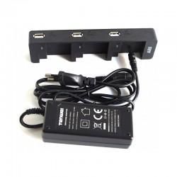 PNJ Chargeur 3 Batteries