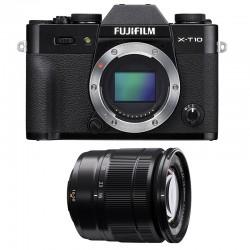 FUJIFILM X-T10 Noir + 16-50