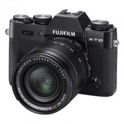 FUJIFILM X-T10 Noir + 18-55