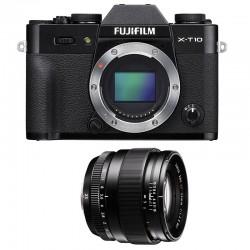 FUJIFILM X-T10 Noir + XF 23mm f/1.4 R