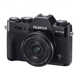 FUJIFILM X-T10 Noir + 27mm
