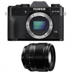 FUJIFILM X-T10 Noir + 56mm