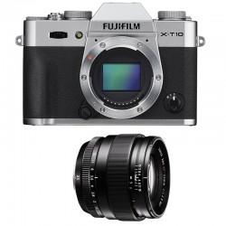 FUJIFILM X-T10 SILVER + XF 23mm f/1.4 R