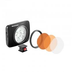 MANFROTTO TORCHE LED LUMIMUSE 6 et accessoires - MLUMIEART-BK