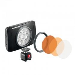 MANFROTTO TORCHE LED LUMIMUSE 8 et accessoires - MLUMIEMU-BK