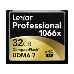 LEXAR Carte CF 32 Go 1066X Professional UDMA