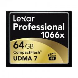 LEXAR Carte CF 64 Go 1066X Professional UDMA