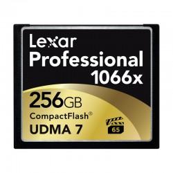 LEXAR Carte CF 256 Go 1066X Professional UDMA
