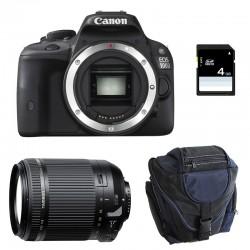 CANON EOS 100D NOIR + TAMRON 18-200 VC GARANTI 3 ans + Sac + Carte SD 4Go