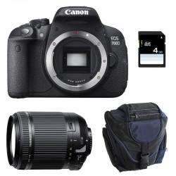 CANON EOS 700D + TAMRON 18-200 VC GARANTI 3 ans + Sac + Carte SD 4Go