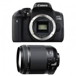 CANON EOS 750D + TAMRON 18-200 VC GARANTI 3 ans