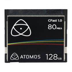 ATOMOS Carte CFAST 1.0 - 128 Go 80MB/s - ATOMCFT128