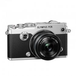 OLYMPUS PEN-F SILVER + 17mm NOIR GARANTI 3 ans
