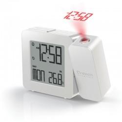 OREGON RM338P blanc Réveil projecteur