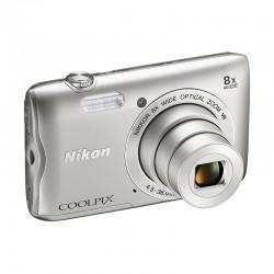 NIKON Compact Coolpix A300 SILVER GARANTI 2 ans