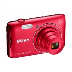 NIKON Compact Coolpix A300 ROUGE GARANTI 2 ans
