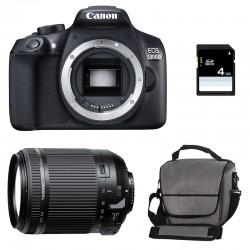 CANON EOS 1300D + TAMRON 18-200 VC GARANTI 3 ans + Sac + Carte SD 4Go