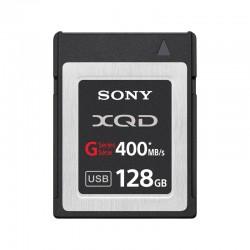 SONY Carte XQD HS 128 Go R400 W350 + Adaptateur - QDG128A-R