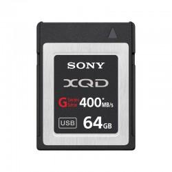 SONY Carte XQD HS 64 Go R400 W350 + Adaptateur - QDG64A-R
