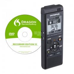 OLYMPUS Dictaphone Numérique VN-741 PC + DNS