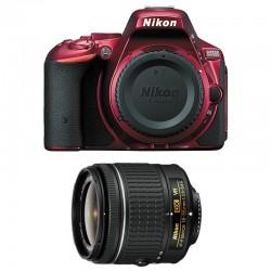 NIKON D5500 Rouge + 18-55 VR GARANTI 3 ans