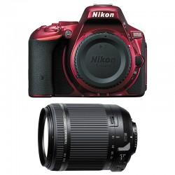 NIKON D5500 Rouge + TAMRON 18-200 VC GARANTI 3 ans