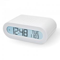 OREGON RRM116 Blanc - Radio Réveil Basic Blanc