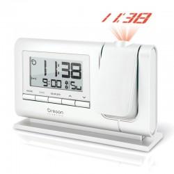 OREGON RM 308 P blanc - Réveil projecteur Blanc