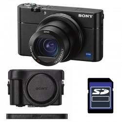 SONY Compact expert DSC-RX100 V NOIR GARANTI 2 ans + ETUI + SD 4 Go