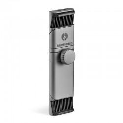 MANFROTTO Twist Grip Smartphone universel Gris/Argent Mat