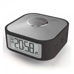 OREGON CP100 Noir - Réveil de Voyage Enceinte Bluetooth