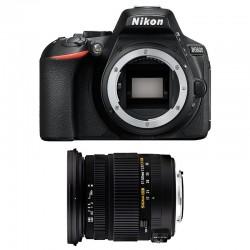 NIKON D5600 + SIGMA 17-50 DC OS HSM GARANTI 3 ans