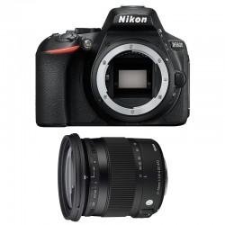 NIKON D5600 + SIGMA 17-70 DC OS HSM Contemporary GARANTI 3 ans