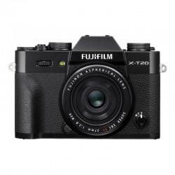 FUJIFILM X-T20 Noir + 27mm Garanti 2 ans