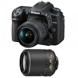 NIKON D7500 + 18-55 VR + 55-200 VR II GARANTI 3 ans