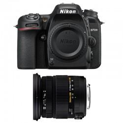 NIKON D7500 + SIGMA 17-50 DC OS EX HS GARANTI 3 ans