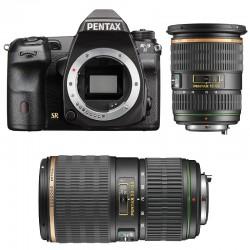 PENTAX K3 II NOIR + 16-50 f/2.8 SDM + 50-135 GARANTI 3 ans