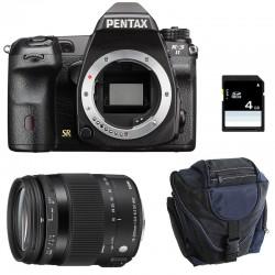PENTAX K3 II NOIR + SIGMA 18-200 Macro HSM Contemporary + Sac + SD 4Go GARANTI 3 ans