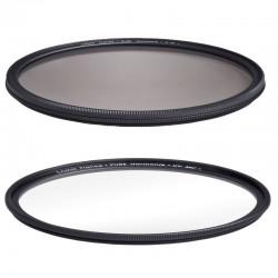 COKIN HARMONIE LOT FILTRES Polarisant + UV 55mm