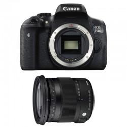 CANON EOS 750D + SIGMA 17-70 F2.8-4 Contemporary GARANTI 3 ans