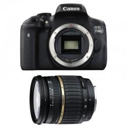 CANON EOS 750D + TAMRON SP AF 17-50 f/2.8 XR Di II LD GARANTI 3 ans