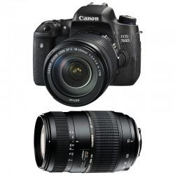 CANON EOS 760D + 18-135 IS STM + TAMRON 70-300 DI GARANTI 3 ans