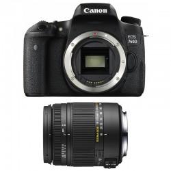CANON EOS 760D + SIGMA 18-250 F3.5-6.3 DC MACRO OS GARANTI 3 ans