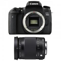 CANON EOS 760D + SIGMA 18-300 Contemporary GARANTI 3 ans
