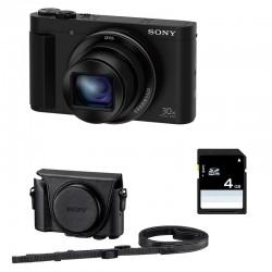 SONY Compact DSC-HX90V avec GPS GARANTI 2 ans + ETUI + SD 4 Go