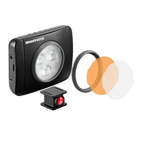 MANFROTTO TORCHE LED LUMIMUSE 3 et accessoires - MLUMIEPL-BK