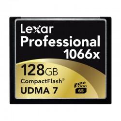 LEXAR Carte CF 128 Go 1066X Professional UDMA