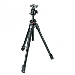 MANFROTTO MK290DUA3-BH - Trépied Kit 290 Dual 90° + rotule 496RC2