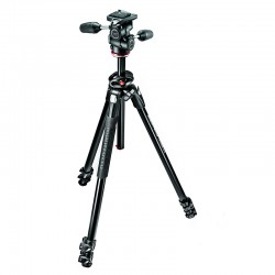 MANFROTTO MK290DUA3-3W - Trépied Kit 290 Dual 90° + rotule MH804-3W
