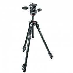 MANFROTTO MK290XTC3-3W - Trépied Kit 290 Expert + rotule MH804-3W